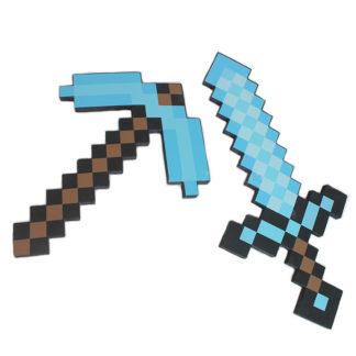 Оружие и Предметы из Minecraft